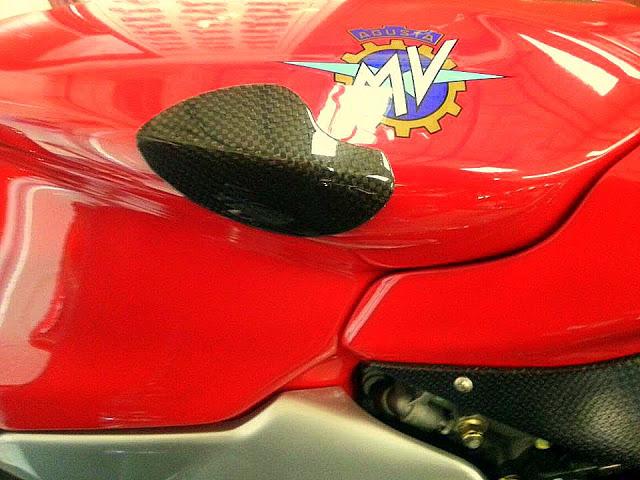 MV Agusta F4 Carbon Fibre Tank Protectors