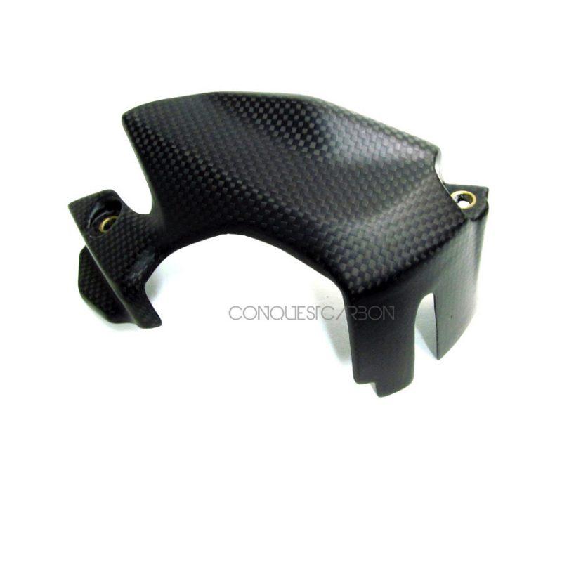 Ducati Panigale Carbon Fibre Sprocket Cover Satin