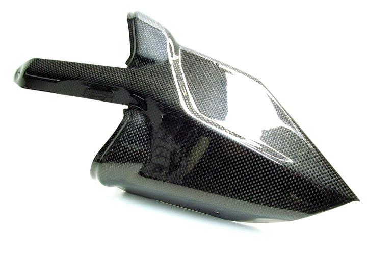 Ducati Multistrada 1200 Carbon Fibre Exhaust Guard