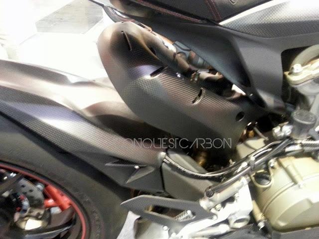 Ducati Panigale 1199 Carbon Fibre Parts