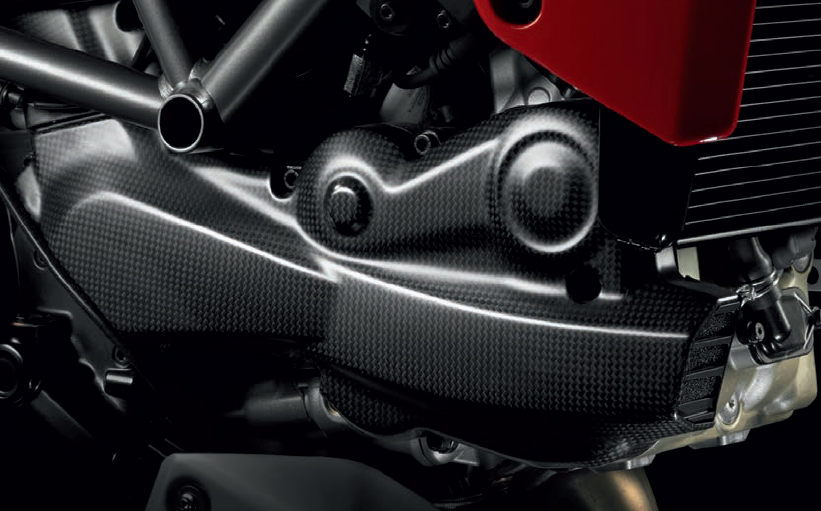 Ducati Multistrada 1200 Carbon Fibre Parts Conquest Carbon