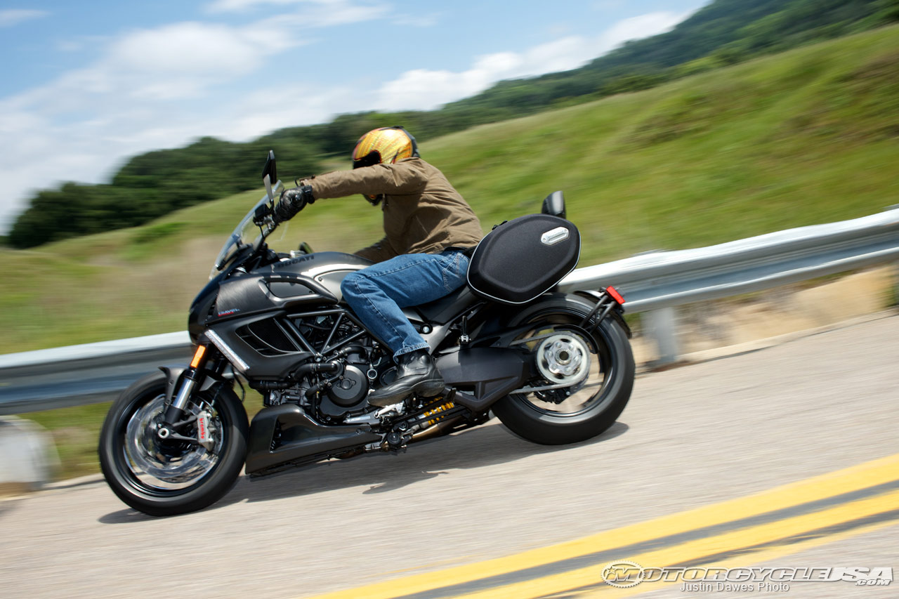 2013 Ducati Diavel Strada First Ride USA