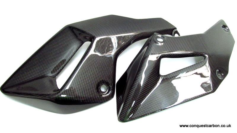 Ducati Multistrada 1200 Carbon Fibre Belly Pan Gloss