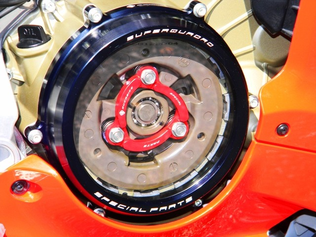 What Does Cnc Stand For >> Ducabike Ducati Panigale Clear Clutch Cover & Retainer Clip | eBay