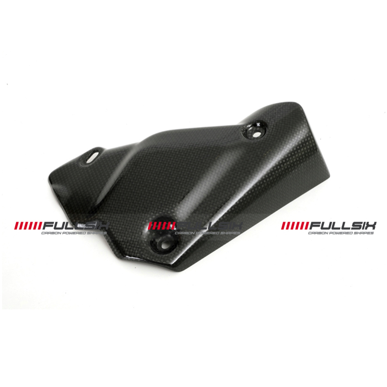 Fullsix Ducati 848 1098 1198 Carbon Fibre Exhaust Guard