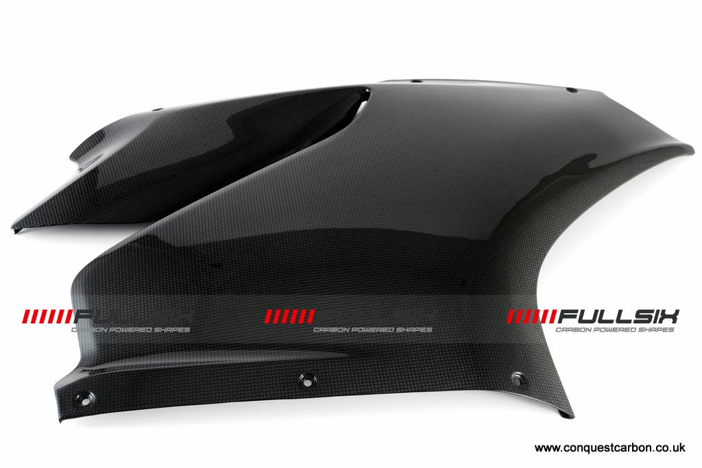 Fullsix Ducati Panigale Carbon Fibre Side Fairing RHS