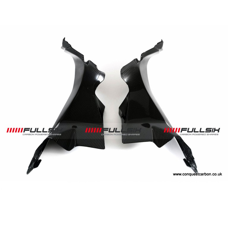 Fullsix Ducati Panigale Carbon Air Tube Covers