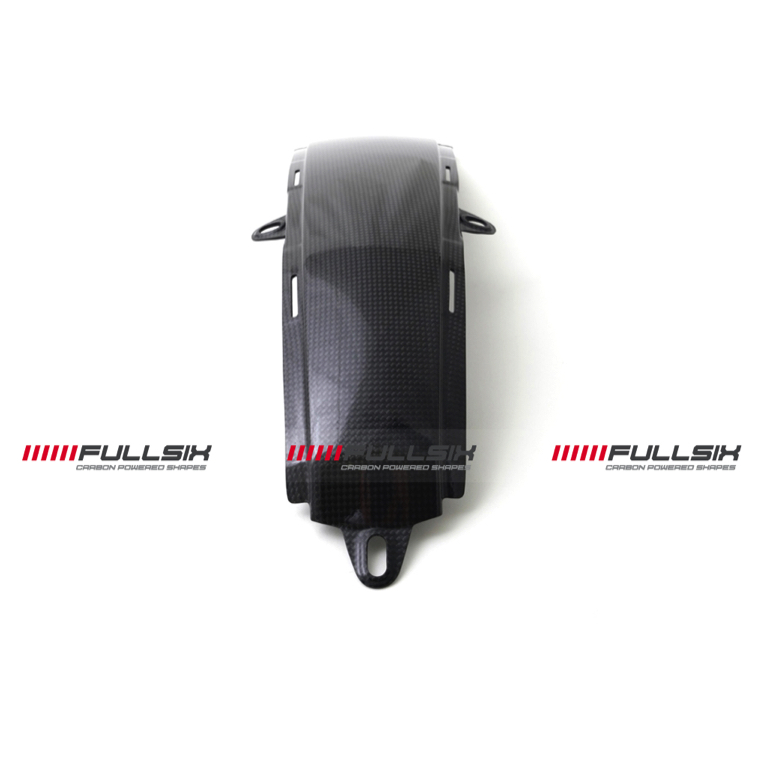 Fullsix Ducati Monster 696 796 1100 Carbon Fibre Lower Tank Cover