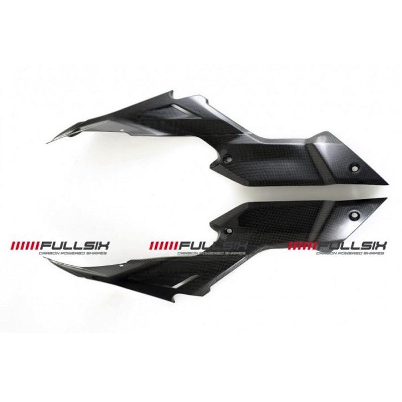 Fullsix Ducati Streetfighter Carbon Fibre Under Seat Side Panels