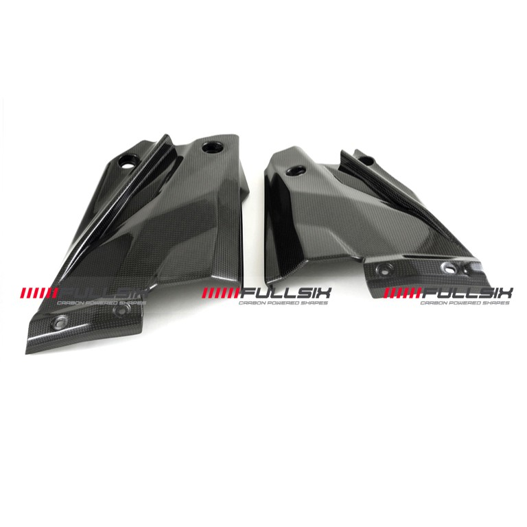 Fullsix Ducati Streetfighter Carbon Fibre Belly Pan Panels
