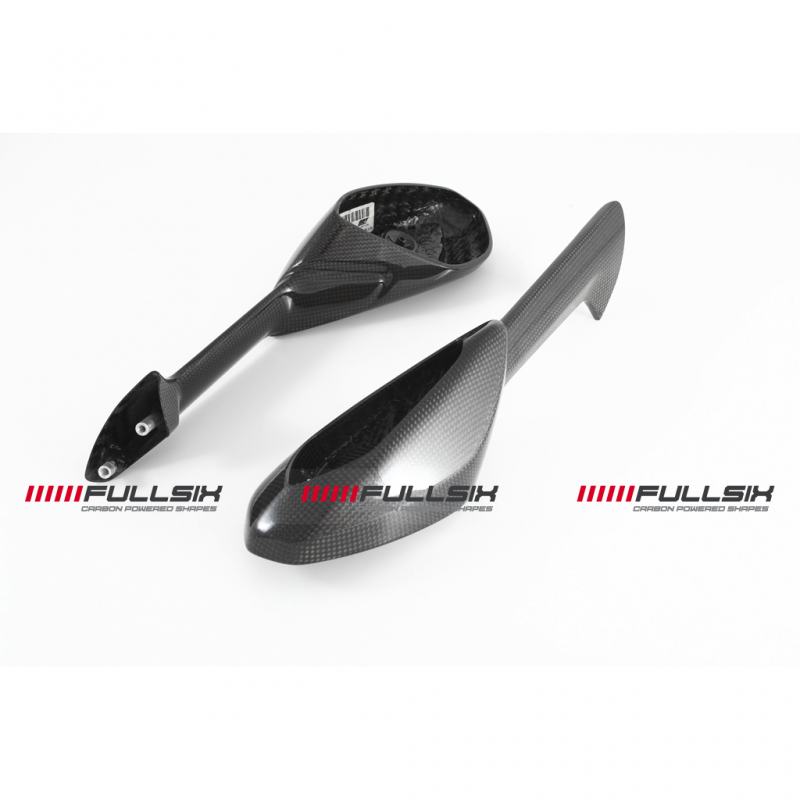 Fullsix Ducati 899 1199 Panigale Carbon Fibre Mirrors