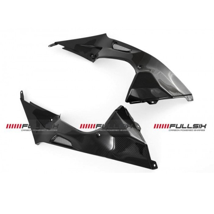 Fullsix BMW S1000RR Carbon Fibre Side Tank Panels