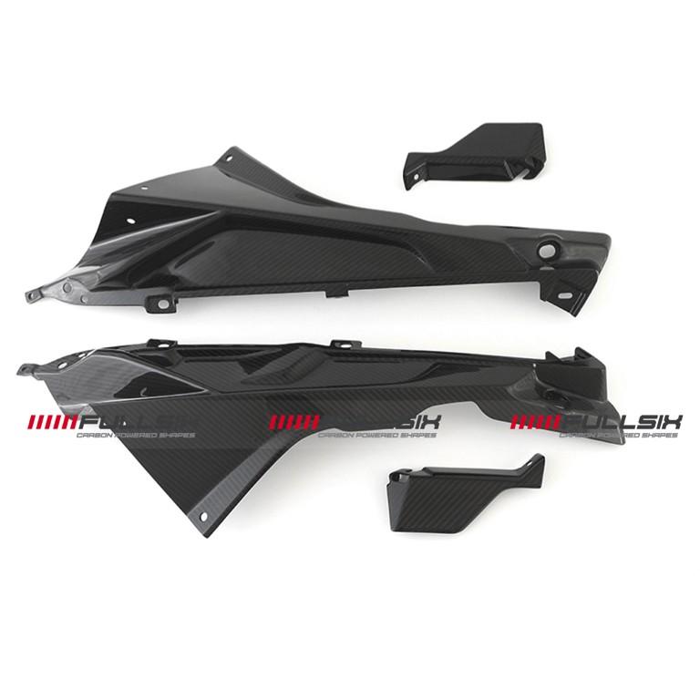 Fullsix BMW S1000RR Carbon Fibre Upper Fairing Covers