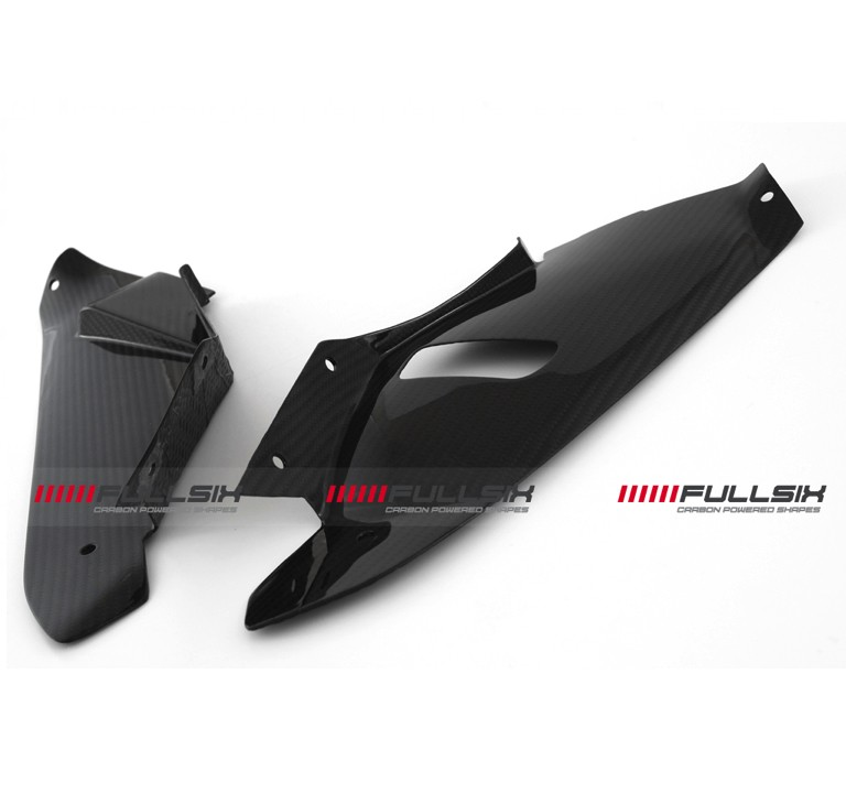 Fullsix BMW S1000RR Carbon Fibre Upper Fairing Panels