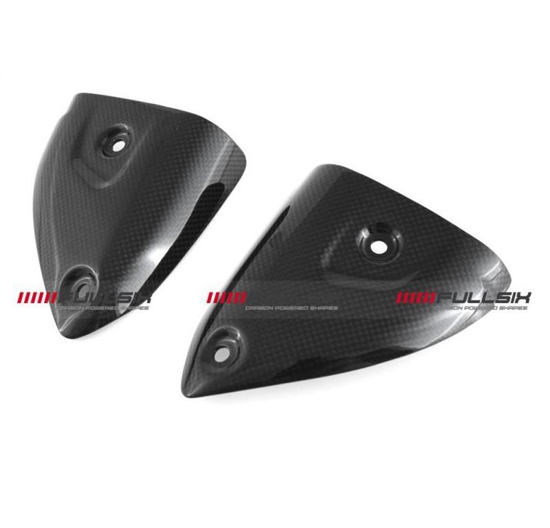 Fullsix Ducati Panigale Carbon Fibre Termignoni Exhaust Covers