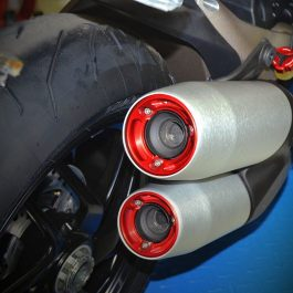 Ducabike Ducati Monster 1200 CNC Exhaust Caps
