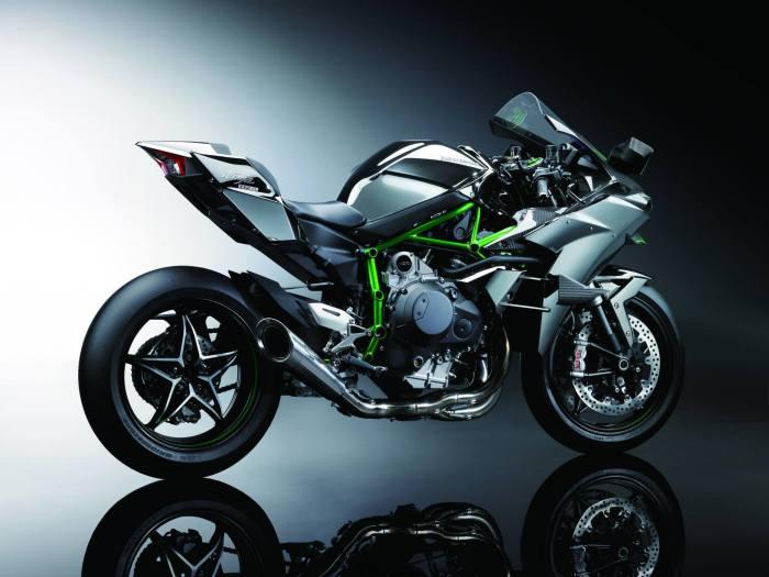 Kawasaki's new Ninja H2R