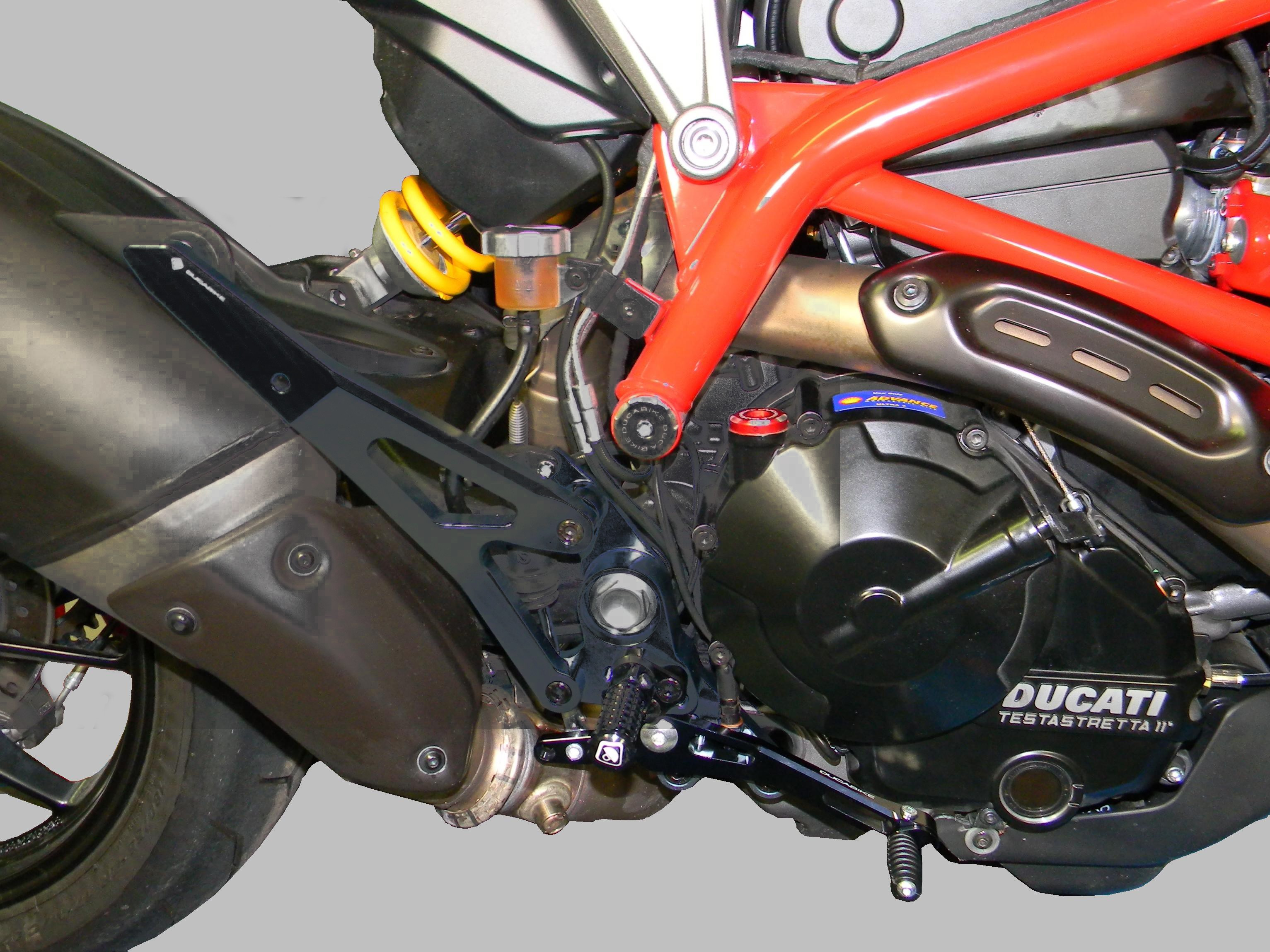 Ducati Hypermotard  Rearsets
