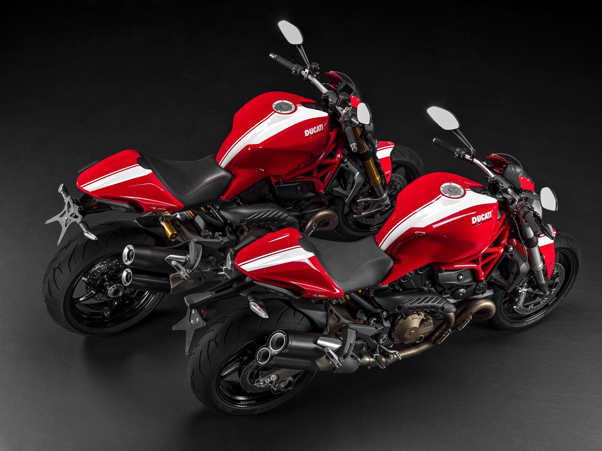 New Ducati Monster 821 1200 Stripe 2015