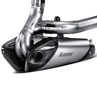 Exhaust BMW F800 GT