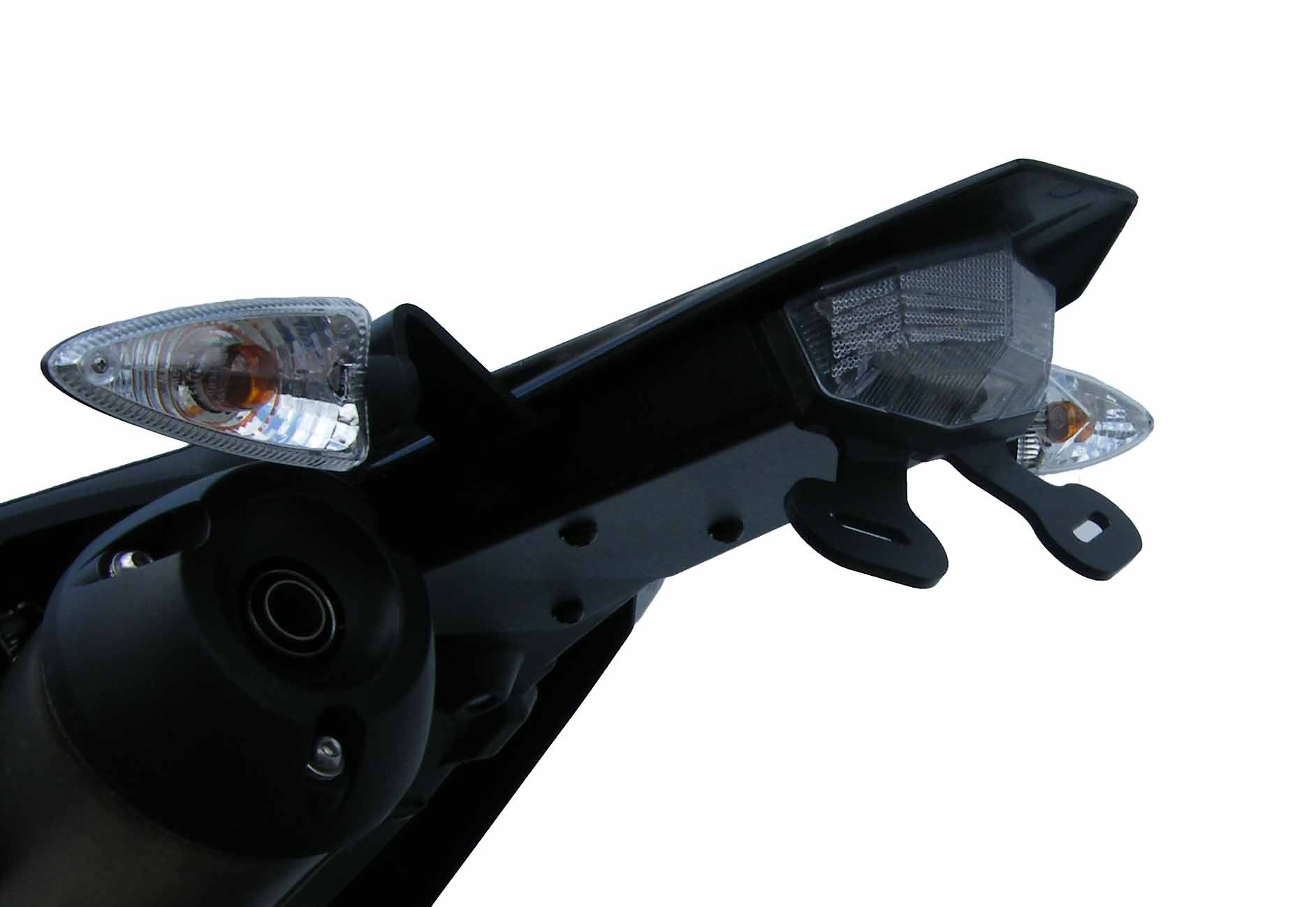 Evotech Yamaha Wr125 X Tail Tidy Conquest Carbon