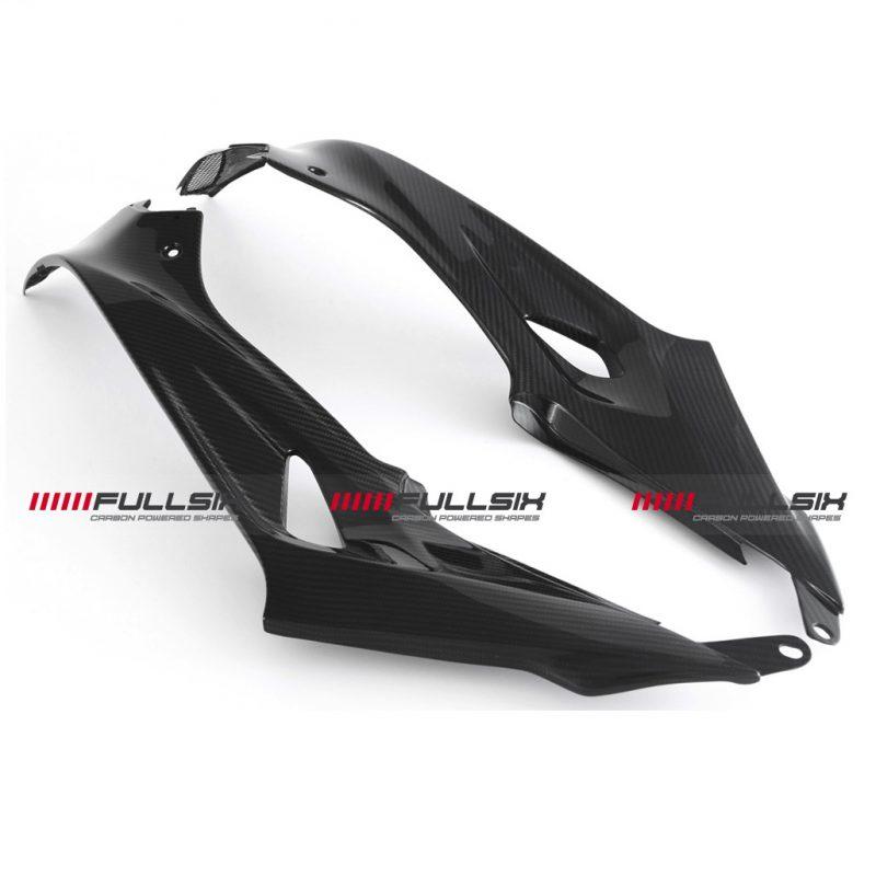 Fullsix BMW S1000R S1000RR Carbon Fibre Tank Panels