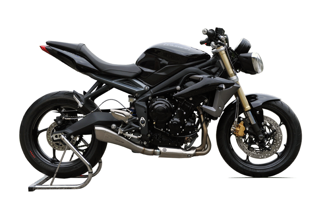 hp corse hydroform exhaust triumph street triple 2013 conquest carbon. Black Bedroom Furniture Sets. Home Design Ideas