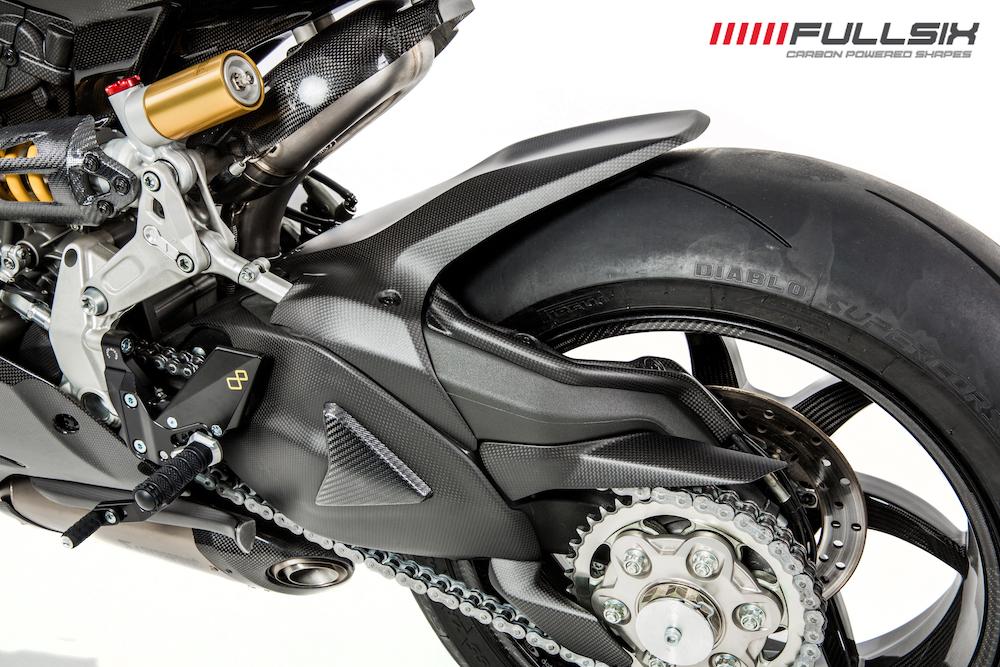 Fullsix Ducati 1199 1299 Panigale Carbon Fibre Hugger Ebay