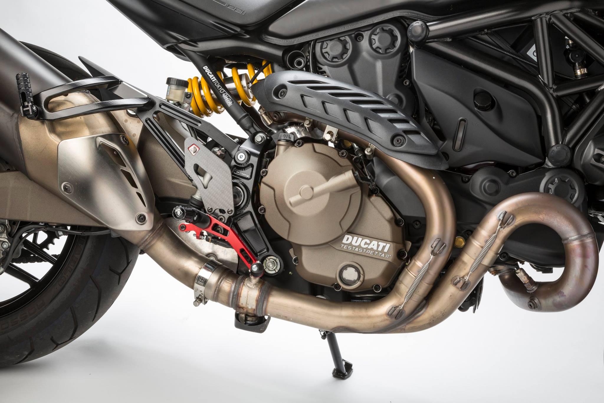Ducati Monster  Rearsets