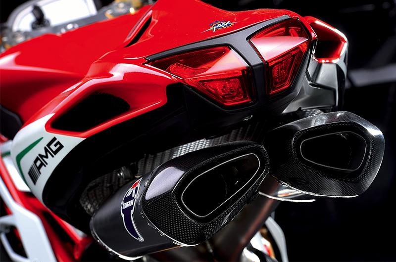 Termignoni Race Exhaust System MV Agusta F4   Conquest Carbon