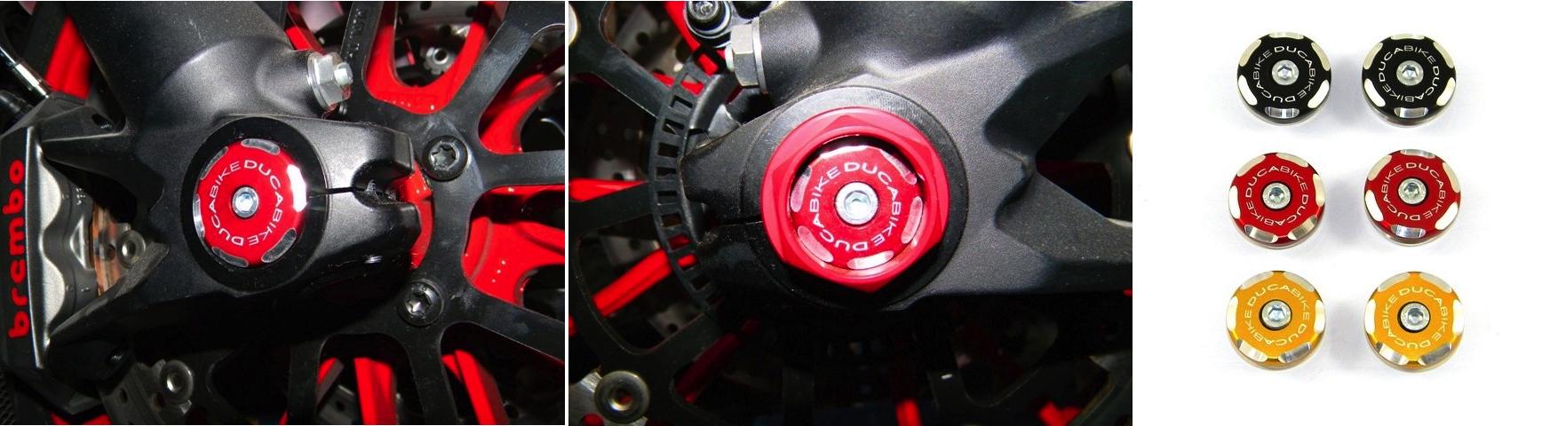 Ducabike Ducati Front Wheel Caps Bicolour