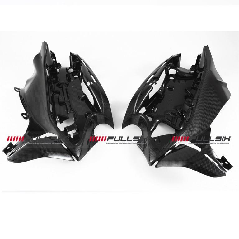 Fullsix Ducati Panigale Carbon Fibre Electronics Holder Conquest