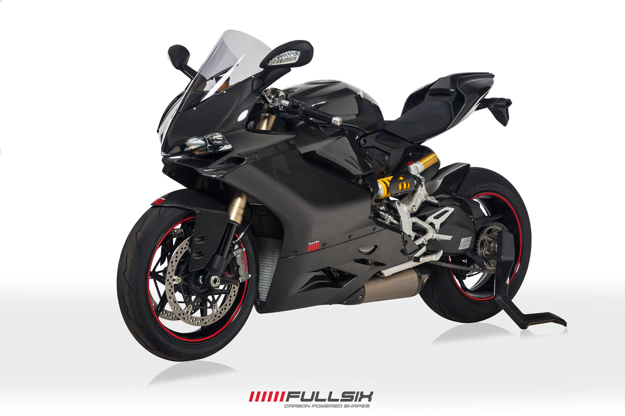 Ducati Panigale 1299 Carbon Fibre Parts Accessories Conquest