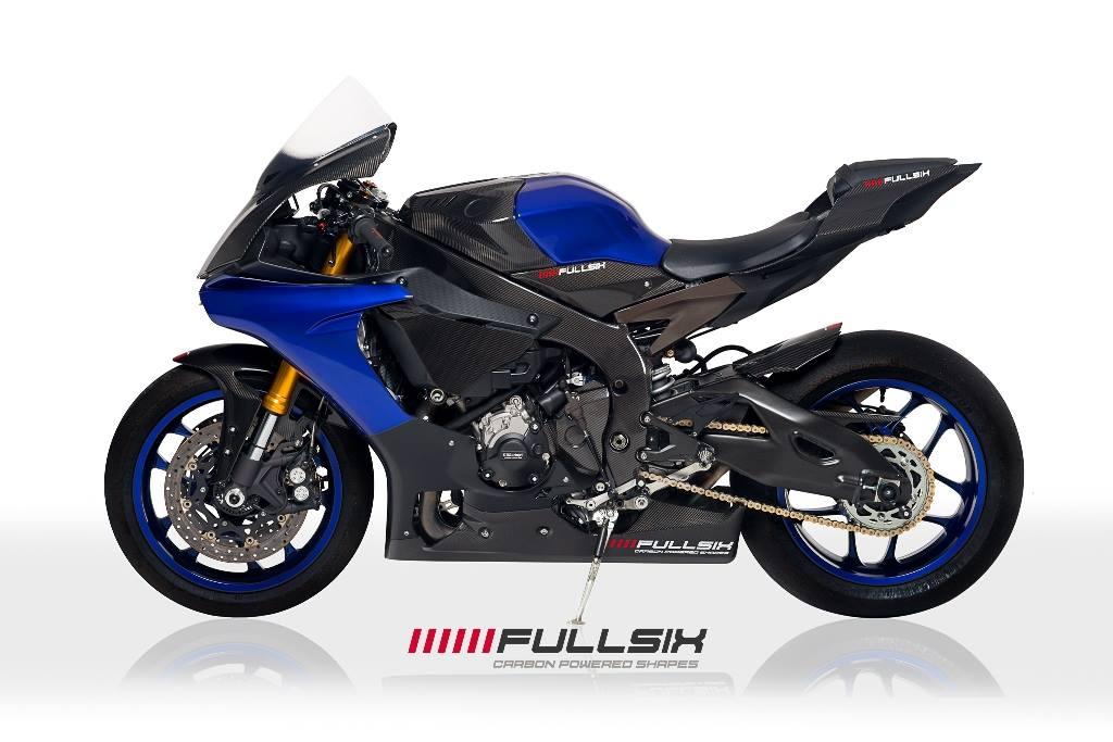 Fullsix yamaha yzf r1 carbon fibre under tank side panels for Yamaha r1 carbon fiber parts