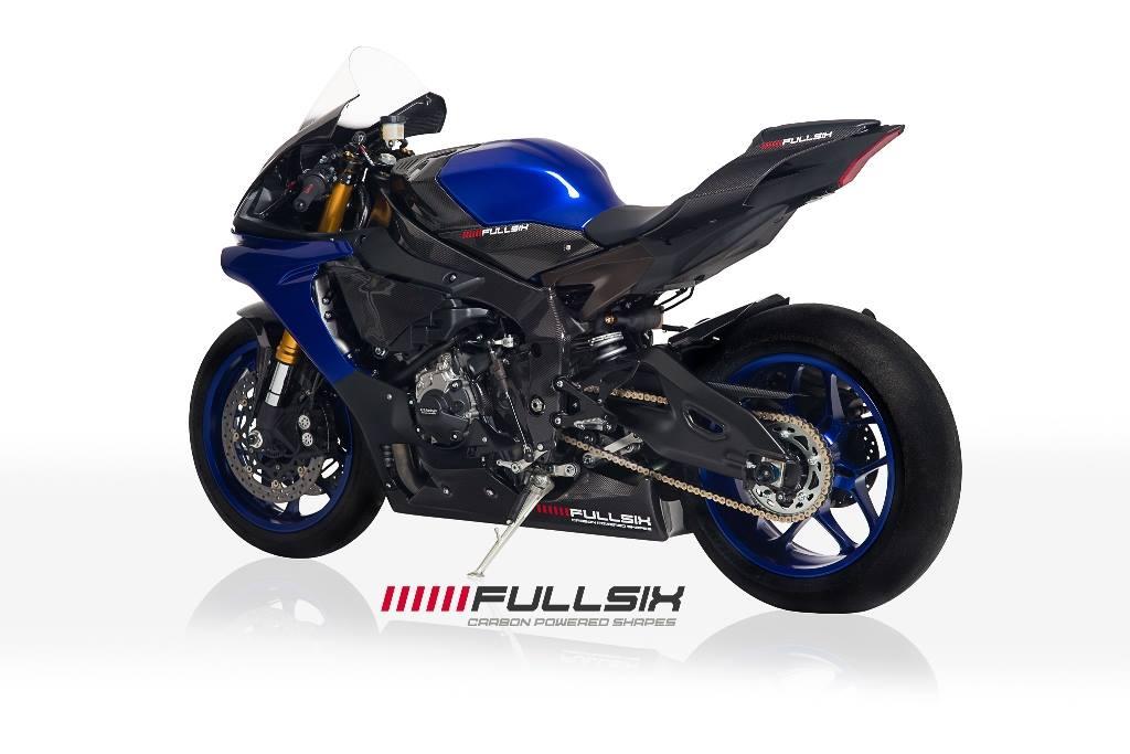 Fullsix yamaha yzf r1 carbon fibre chain guard conquest for Yamaha r1 carbon fiber parts
