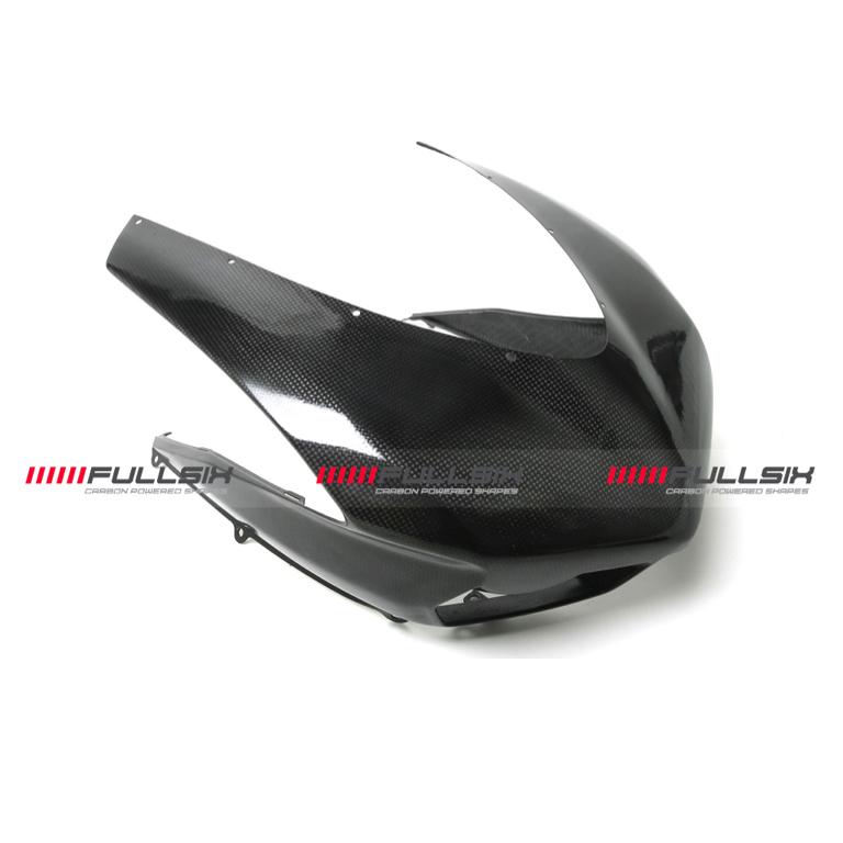 Fullsix Ducati 848 1098 1198 Carbon Fibre Race Headlight Fairing OEM Intakes