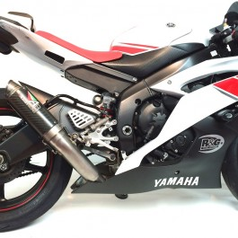 Austin racing exhaust yamaha yzf r6 conquest carbon for Best exhaust system for yamaha r6