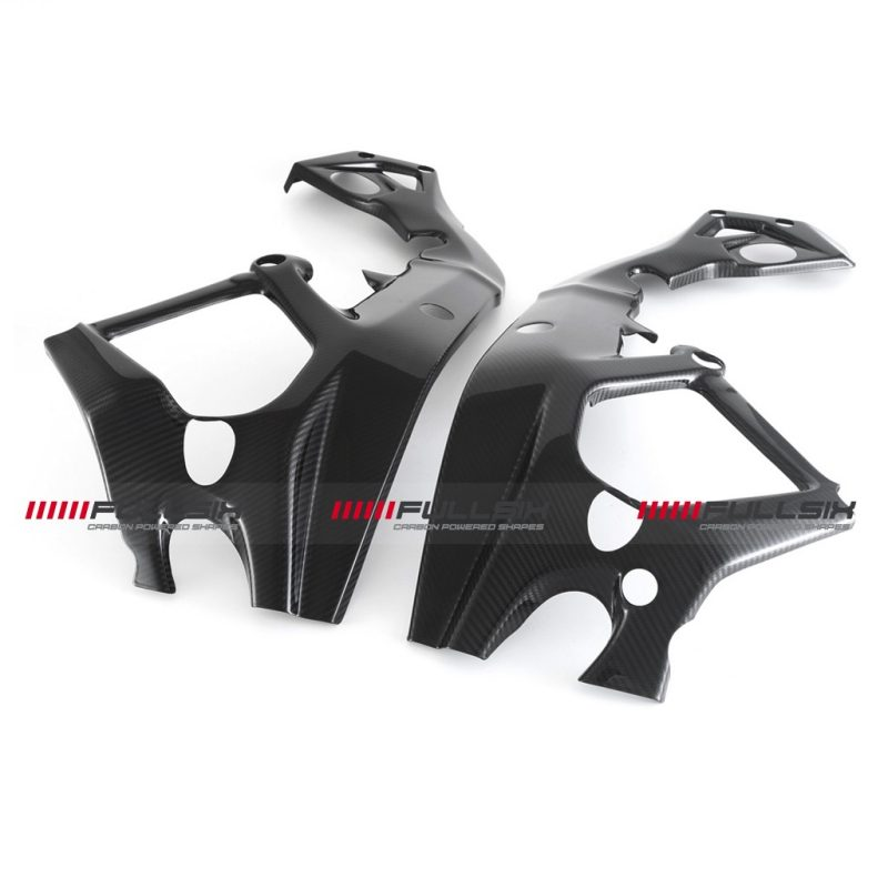 Fullsix BMW S1000RR Carbon Fibre Frame Covers 2015+
