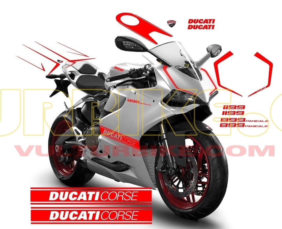 Ducati  Fairing Decals