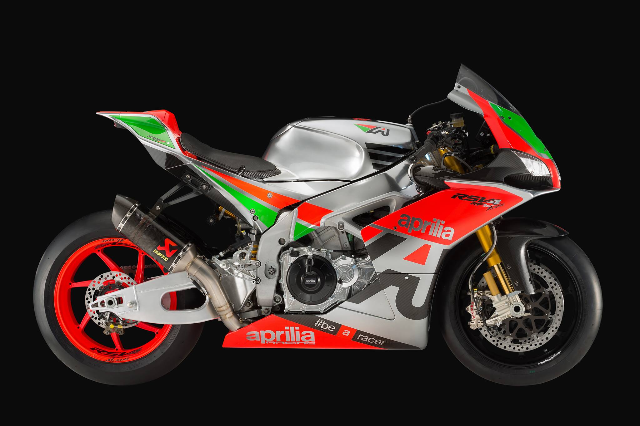 2016 aprilia rsv4 r-fw 230bhp race bike | conquest carbon