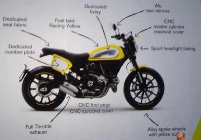New 2016 Ducati Scrambler Flat Track Pro