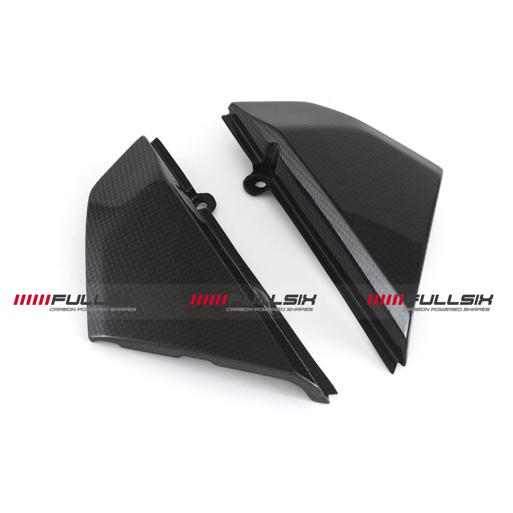 Fullsix Ducati Scrambler Carbon Fibre Frame Inserts | Conquest Carbon