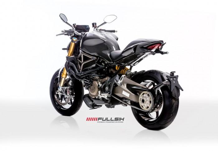 Fullsix Carbon Ducati Monster 821 1200 Carbon Fibre Gloss Satin Matte Carbon Parts