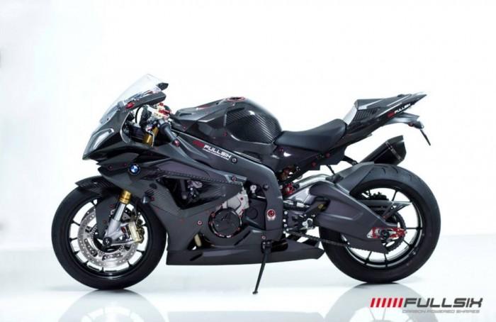 Fullsix Carbon BMW S1000RR Carbon Fibre Gloss / Satin Matte Carbon Fairings