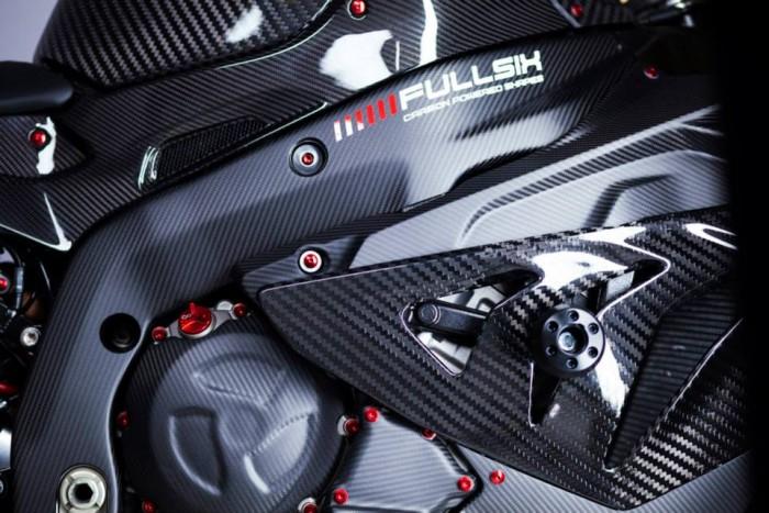 Fullsix Carbon BMW S1000RR Carbon Fibre Gloss Satin Matte Carbon Fairings