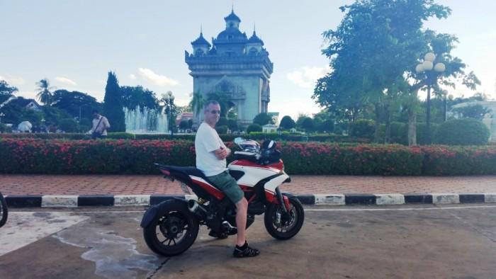 Alan's Ducati Multistrada 1200 Pikes Peak Road Trip Pattaya to Laos,