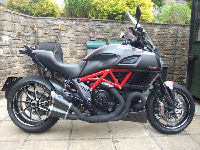 Terry's Ducati Diavel Carbon