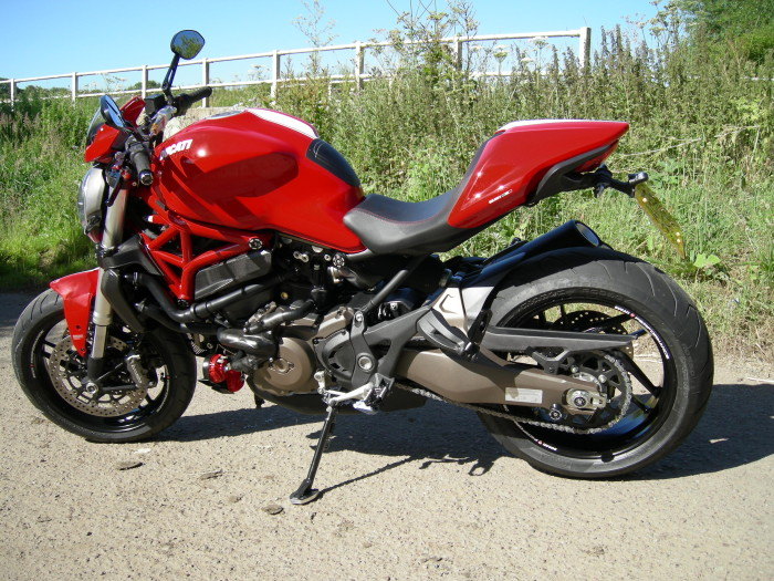 Johns Stunning Ducati Monster 821 Stripe