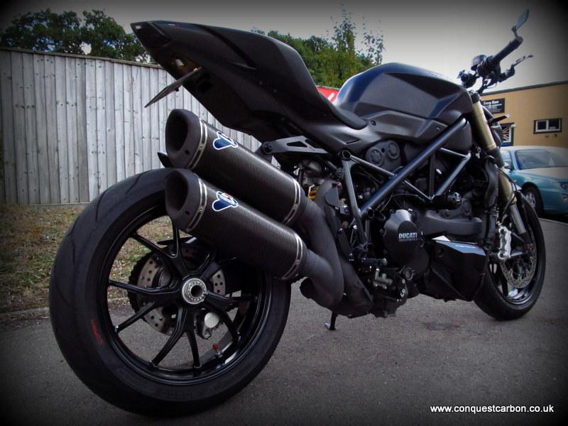 Ducati Street Fighter 848 Satin Carbon Fibre By Conquest Carbon