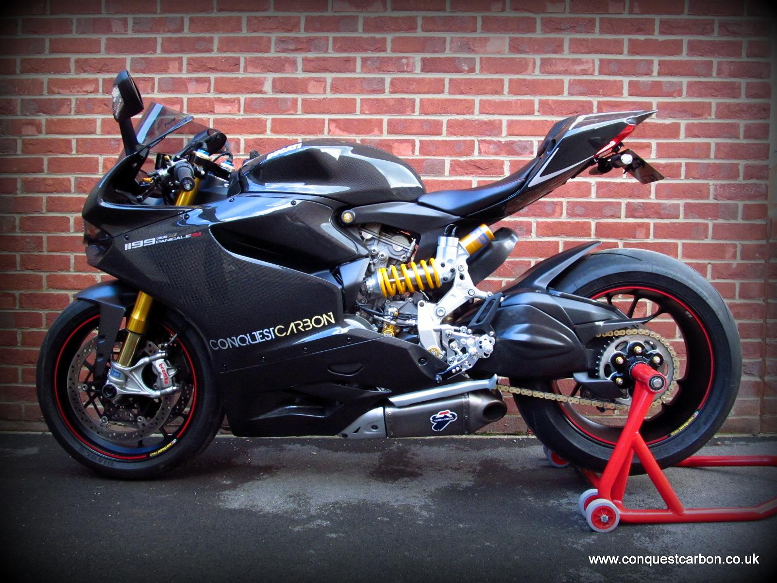Conquest Carbon's Ducati Panigale 1199RS Show Bike